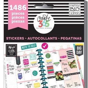 The Happy Planner Everyday Plans Stickers: 1486 PK
